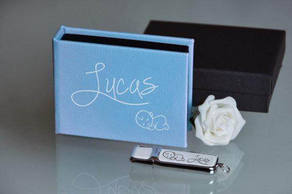 Newborn fotografie, USB giftbox