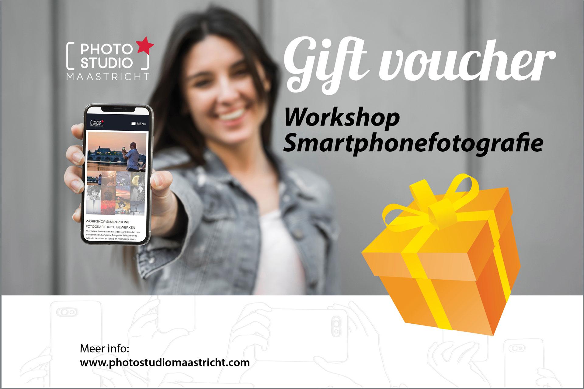 cadeaubon workshop smartphonefotografie maastricht
