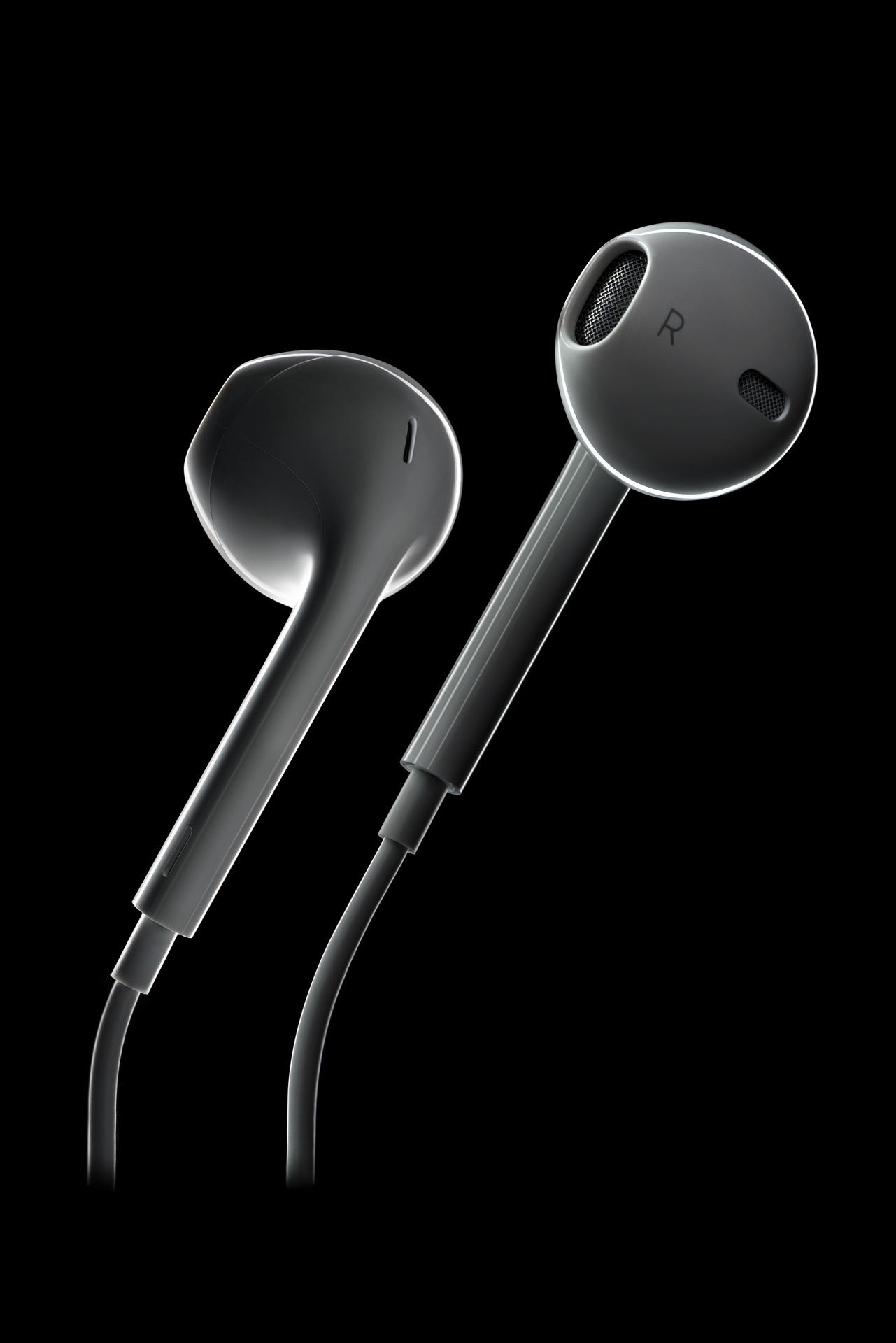 reclamefotografie apple headphones