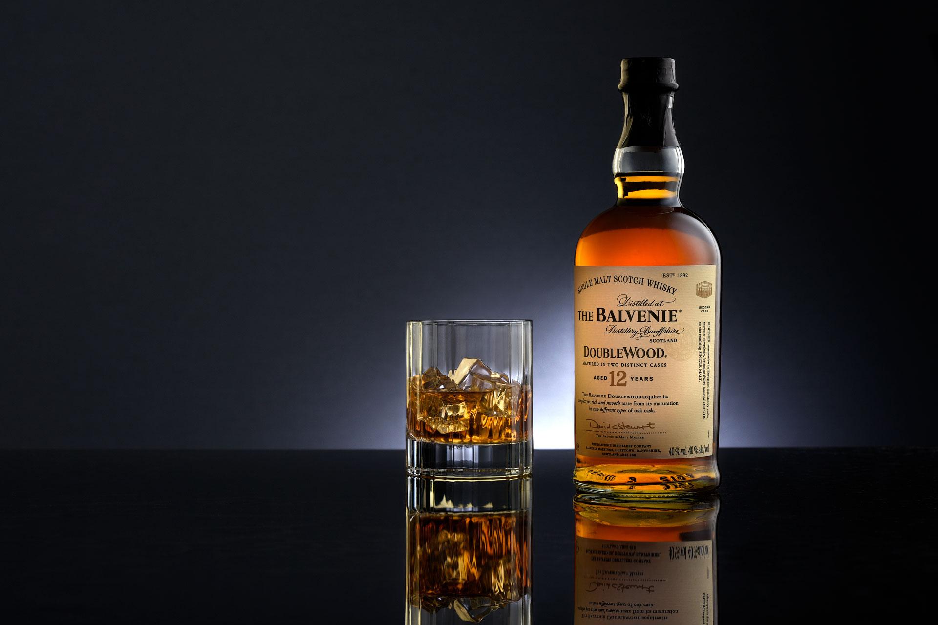 Balvenie Whisky Productfotografie