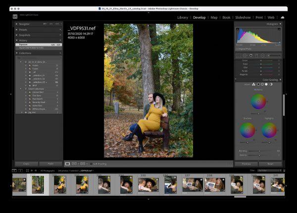 Training fotobewerking met Adobe Lightroom