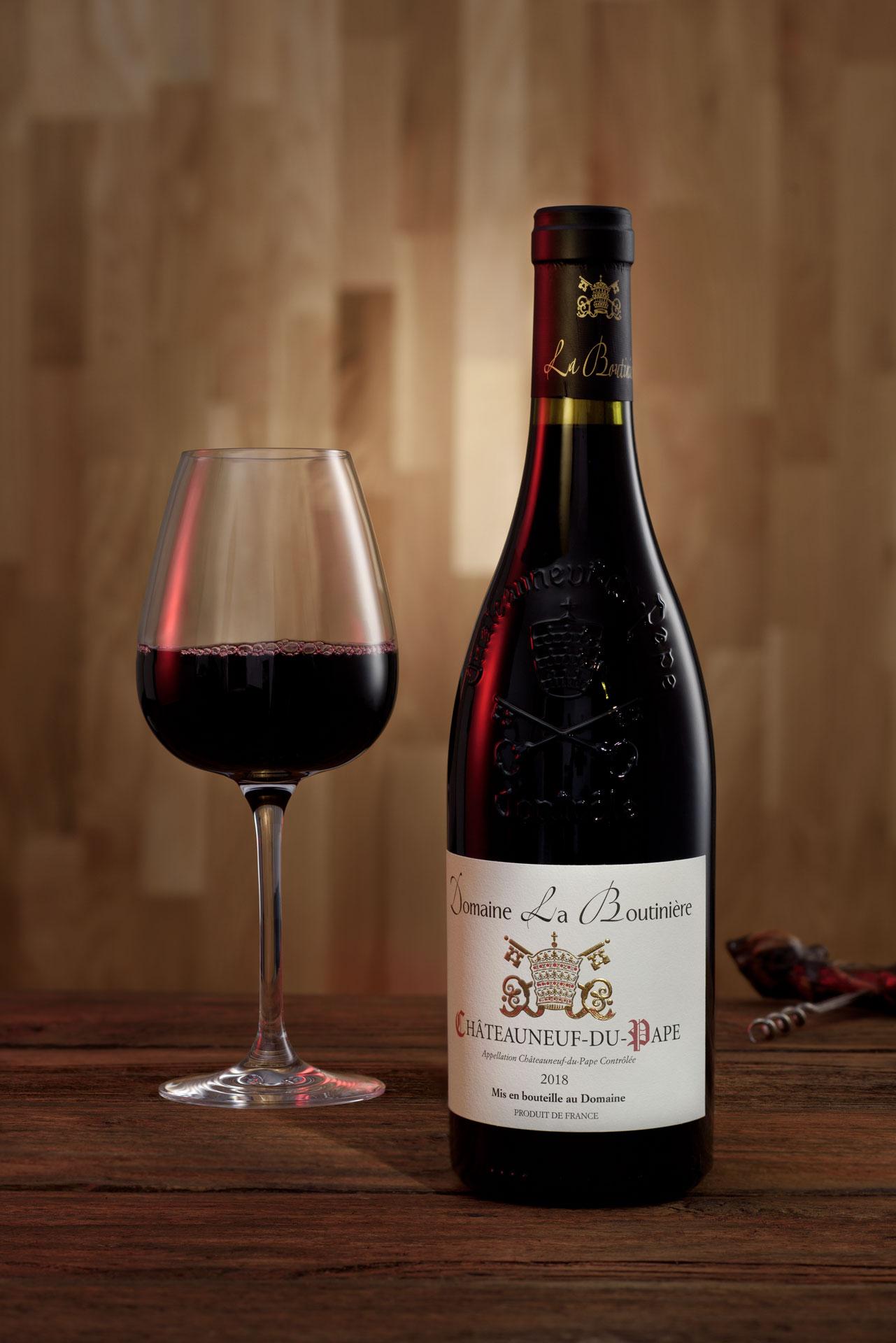 Productfotografie Rode Wijn